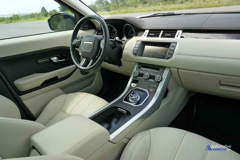 2015 Range Rover Evoque Prestige