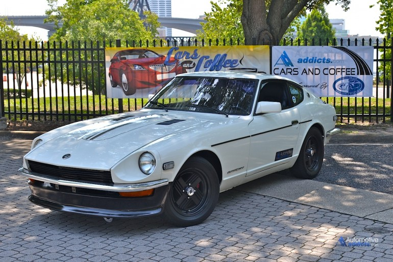 1971 Datsun 240z at Automotive Addicts Cars & Coffee
