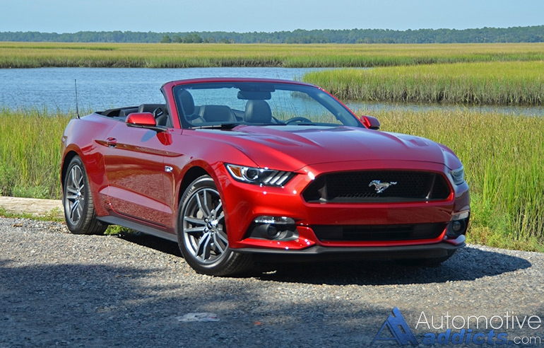 2015 ford mustang gt convertible review test drive. Black Bedroom Furniture Sets. Home Design Ideas