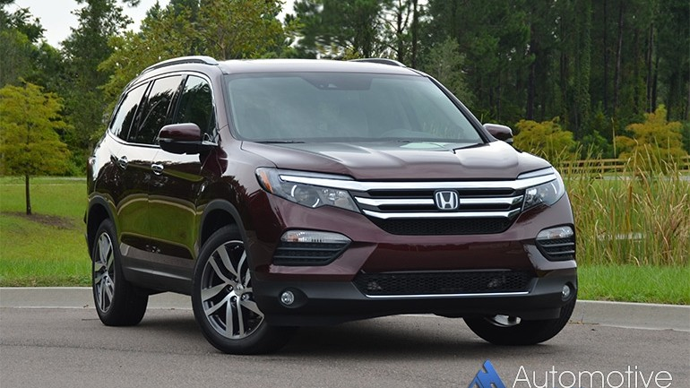2016 Honda Pilot Elite Review & Test Drive
