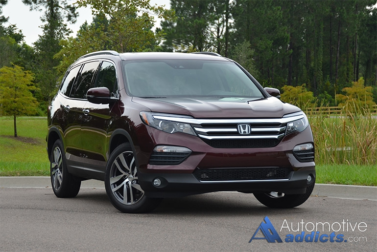 2016 honda pilot elite review test drive. Black Bedroom Furniture Sets. Home Design Ideas