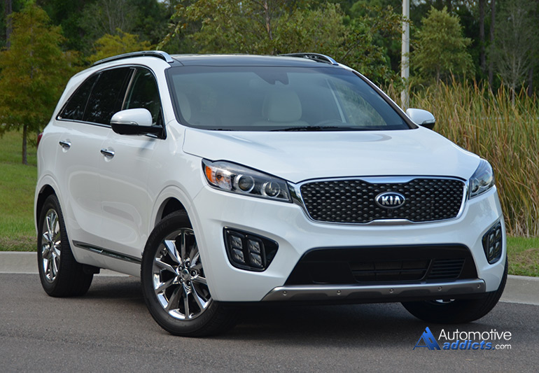 In our garage 2016 kia sorento sxl awd for Garage kia 95