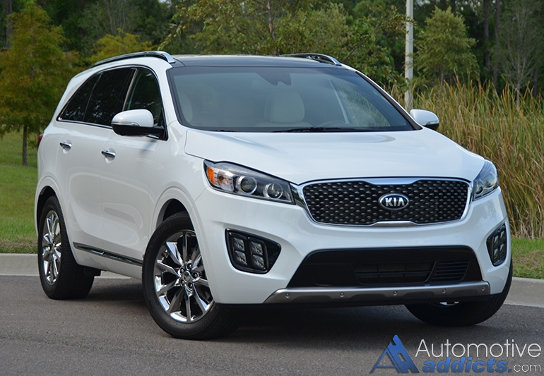 2016 kia sorento sxl limited awd v6 review test drive. Black Bedroom Furniture Sets. Home Design Ideas