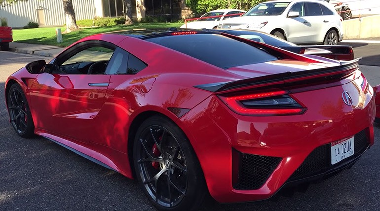 2017 Acura NSX is Legit and we will get it Spring 2016: Rev and Launch Control Video
