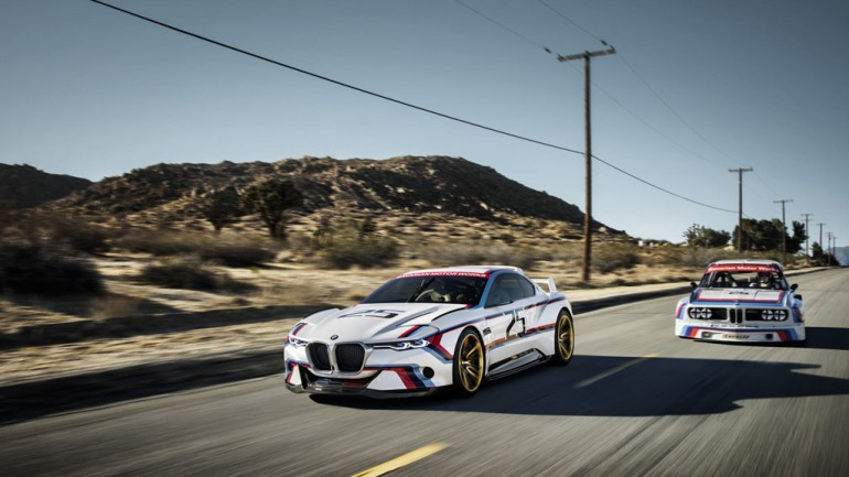World Premiere of BMW 3.0 CSL Hommage R at Pebble Beach