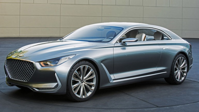 Hyundai Vision G Coupe Concept debuts before start of Pebble Beach Concours