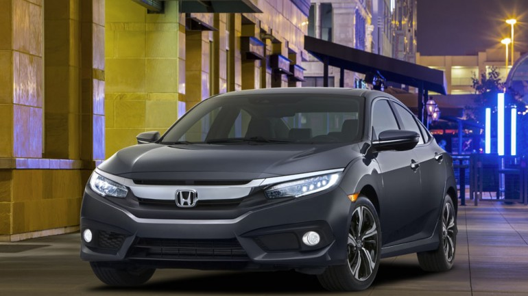 Honda Debuts 2016 Civic Marking 10th Generation