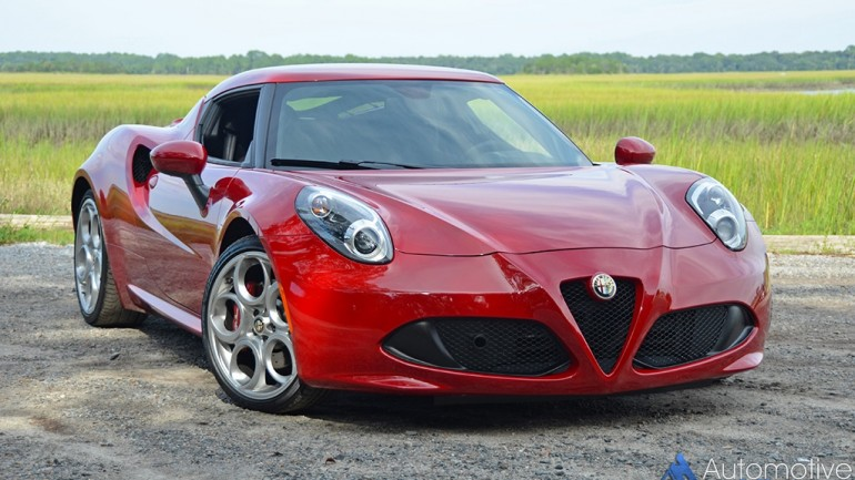 2015 Alfa Romeo 4C Review & Test Drive