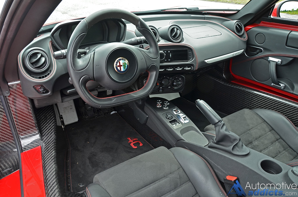 2015 Alfa Romeo 4c Dashboard Interior