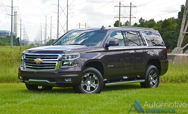2015 Chevrolet Tahoe Z71 4×4 Review & Test Drive