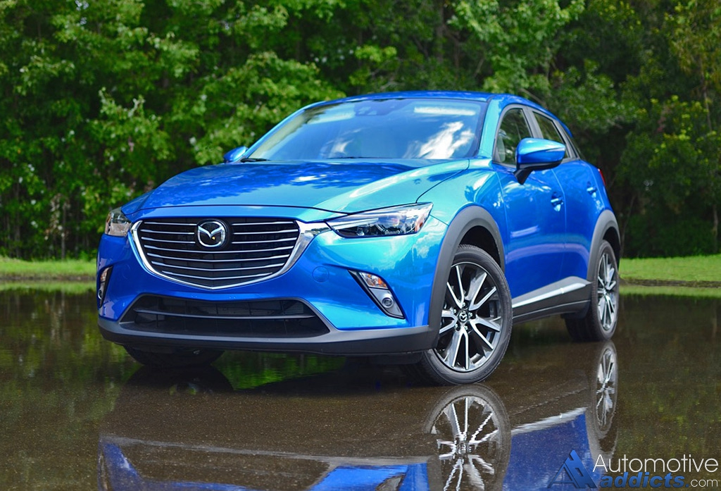 2016 Mazda CX-3 Grand Touring FWD Review & Test Drive