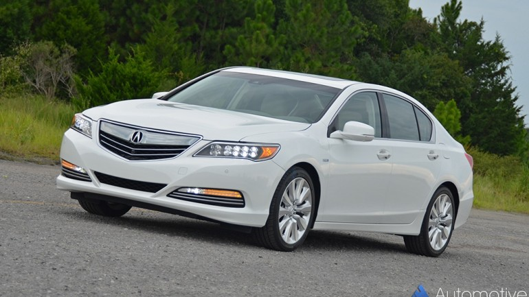 2016 Acura RLX Sport Hybrid Review & Test Drive