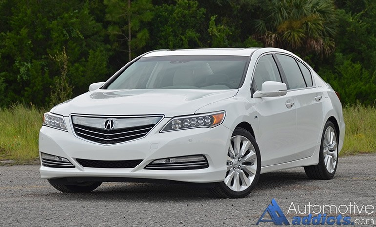 2016 acura rlx sport hybrid review test drive. Black Bedroom Furniture Sets. Home Design Ideas
