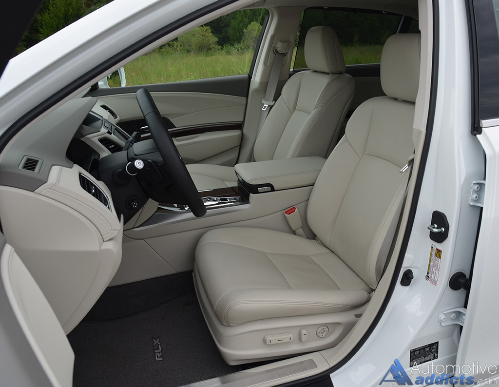 2016 Acura Rlx Sport Hybrid Front Seats