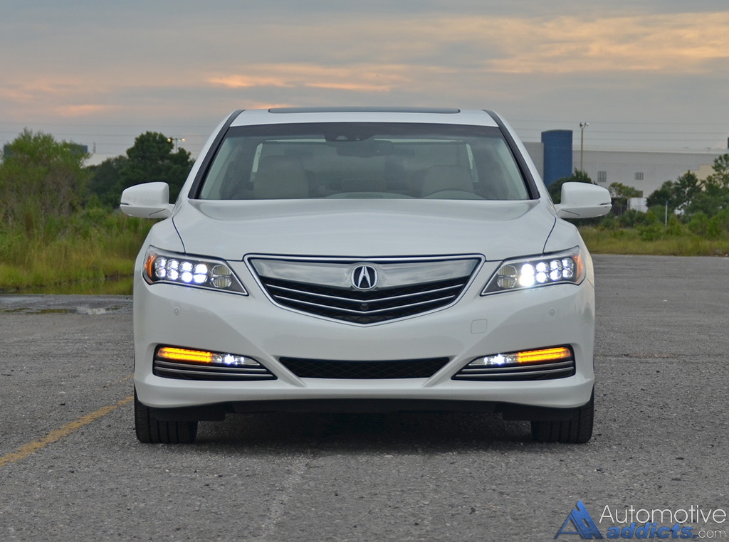 2016 Acura Rlx Sport Hybrid Front