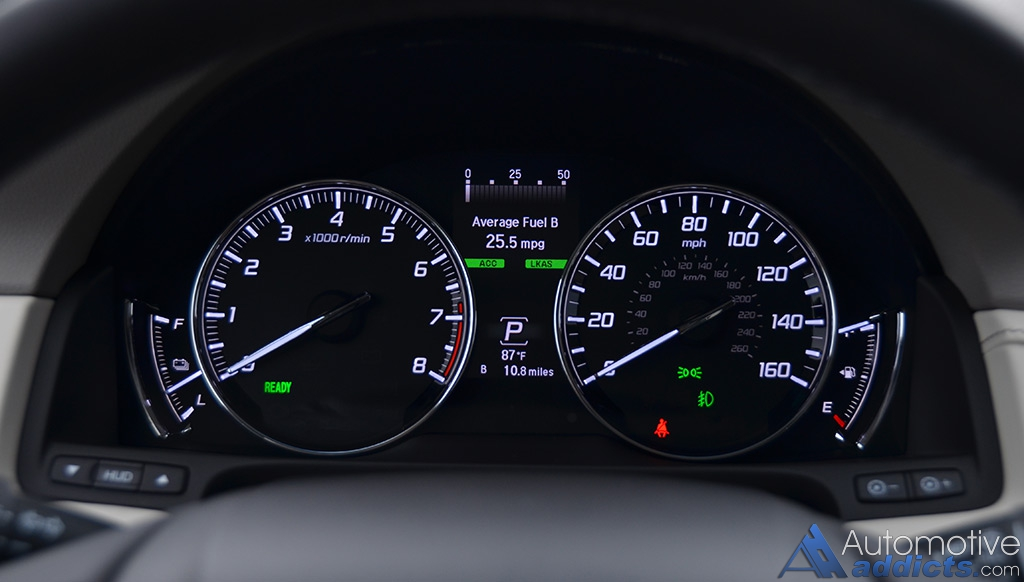 2016 Acura Rlx Sport Hybrid Review Test Drive Automotive Addicts