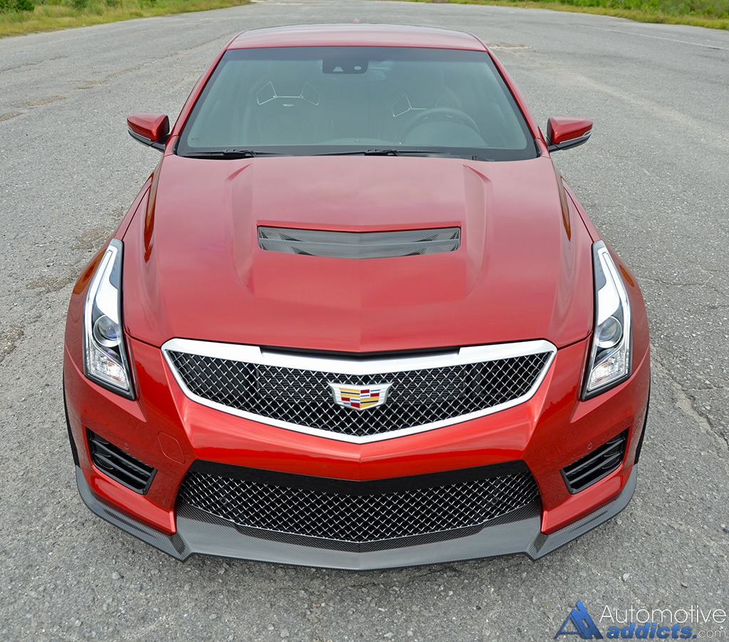 2015 Cadillac Cts V Reviews And Rating: 2016 Cadillac ATS-V Coupe Review & Test Drive : Automotive