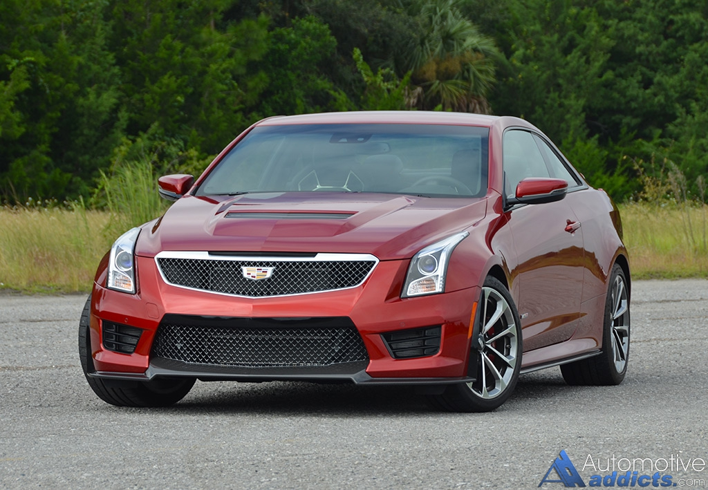 2016 cadillac ats v coupe review test drive. Black Bedroom Furniture Sets. Home Design Ideas