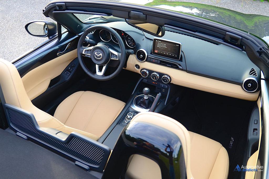 2016 Mazda Mx5 Miata Interior