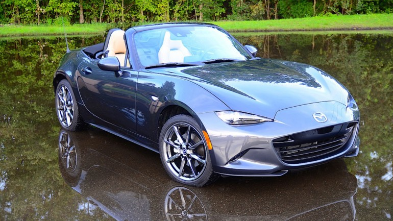 2016 Mazda MX-5 Miata Grand Touring Review & Test Drive