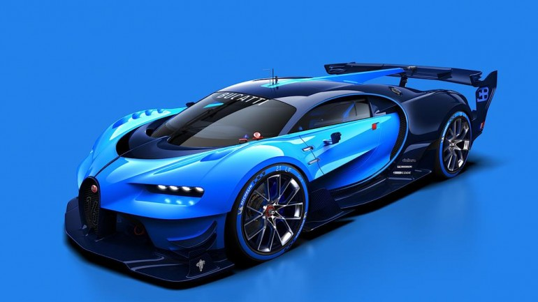 Bugatti Vision Gran Turismo Vehicle Inspires the Future of Fast