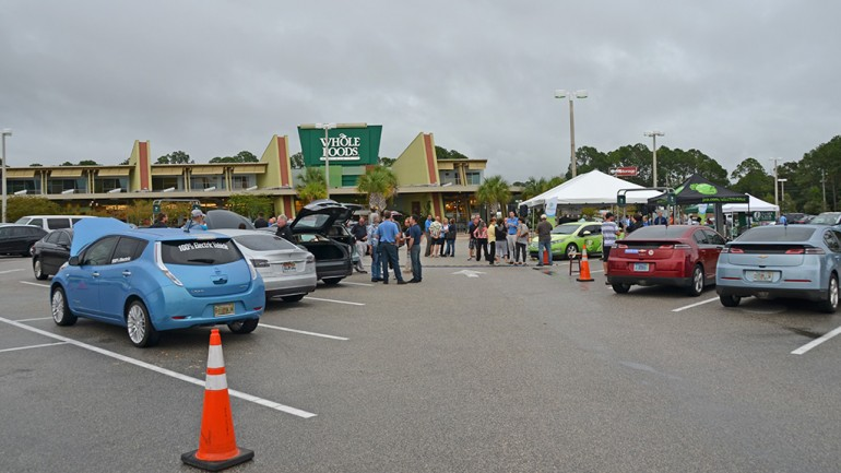 Jacksonville, FL's Region for National Drive Electric Week Concludes With Electrifying Event