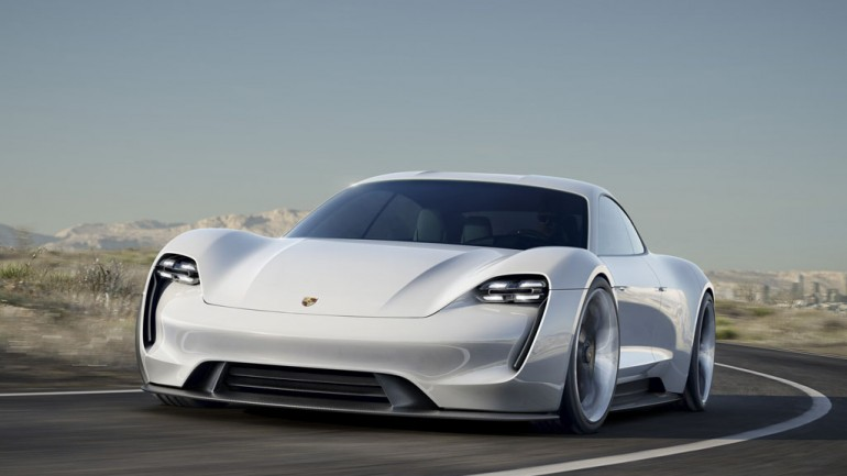 Porsche Electrifies at Frankfurt Auto Show with 600-HP and 300+ Mile Range Mission E Concept