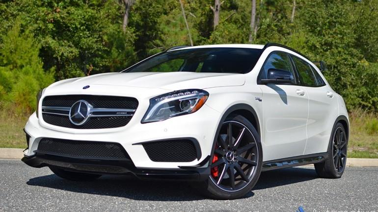 In Our Garage: 2015 Mercedes-Benz GLA45 AMG