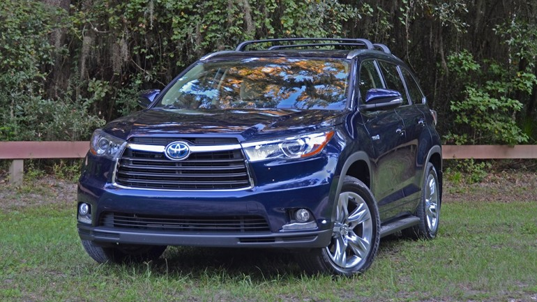 2015 Toyota Highlander Hybrid Limited AWD-i Review & Test Drive