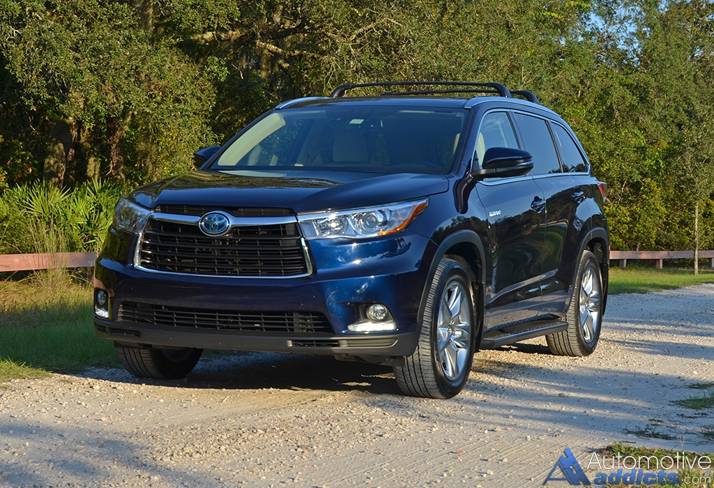 2015 Toyota Highlander Hybrid Limited AWD-i Review & Test ...