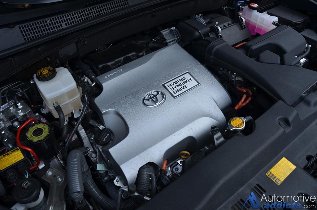 2015 Toyota Highlander Hybrid Engine