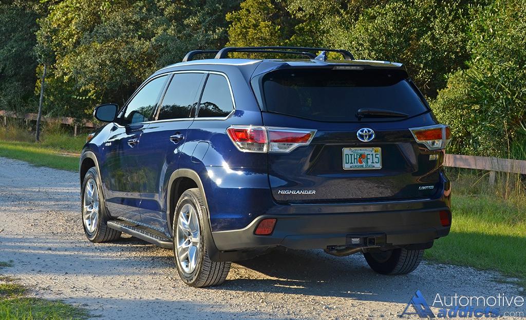 2015 Toyota Highlander Hybrid Rear Drive