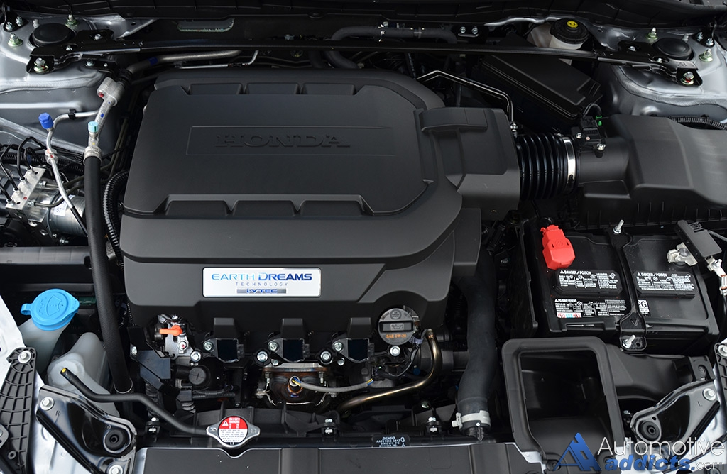 2016 Honda Accord V6 Touring Engine
