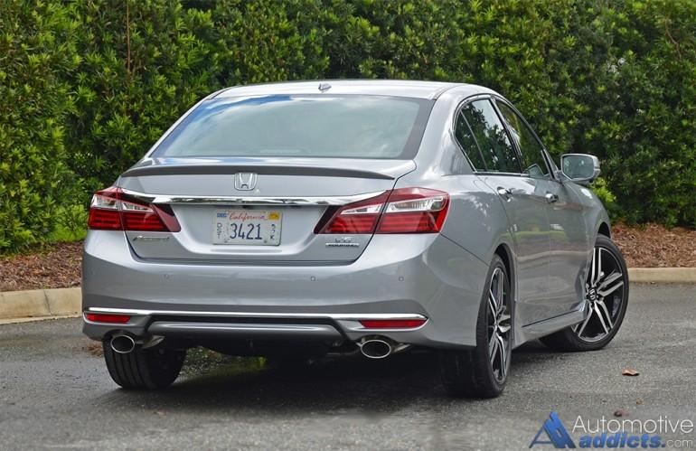 Honda Accord 2015 Led Headlights >> 2016 Honda Accord V6 Touring Review & Test Drive