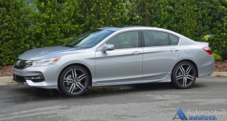 2016 honda accord v6 touring review test drive. Black Bedroom Furniture Sets. Home Design Ideas