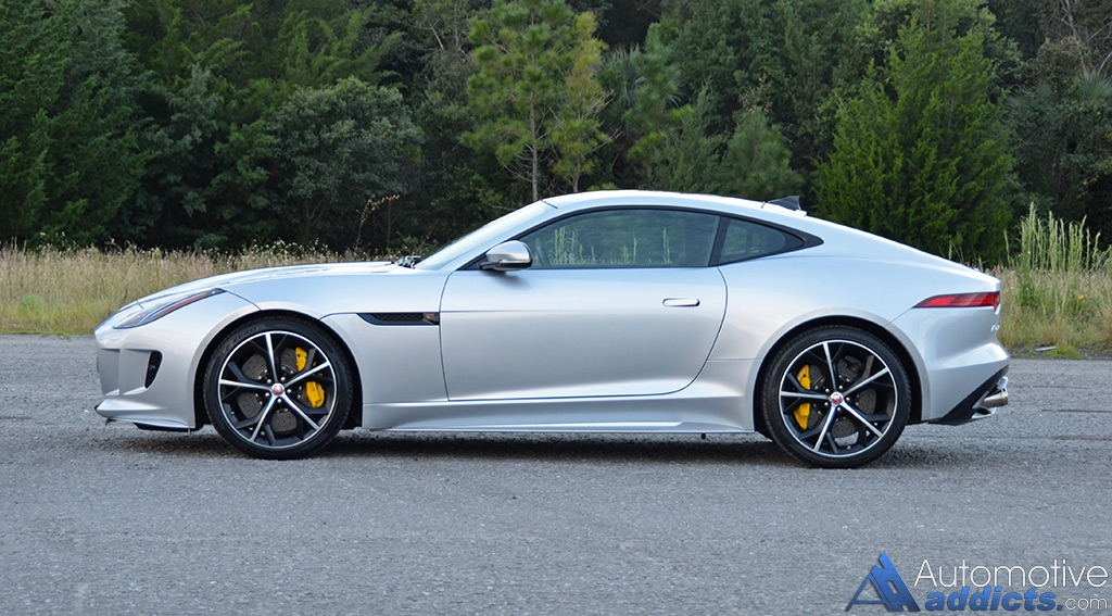 with us for our rundown and review on the 2016 jaguar f type r coupe. Black Bedroom Furniture Sets. Home Design Ideas