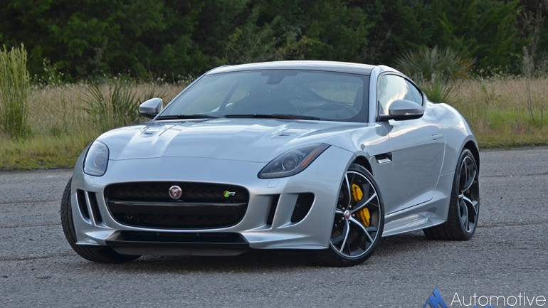 2016 Jaguar F-Type R Coupe Review & Test Drive