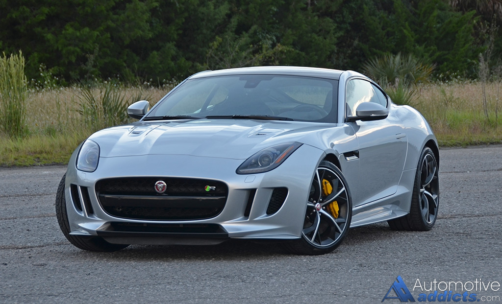 2016 jaguar f type r coupe review test drive. Black Bedroom Furniture Sets. Home Design Ideas