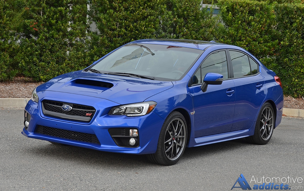 Subaru Wrx 0-60 >> 2016 Subaru WRX STI Limited Review & Test Drive