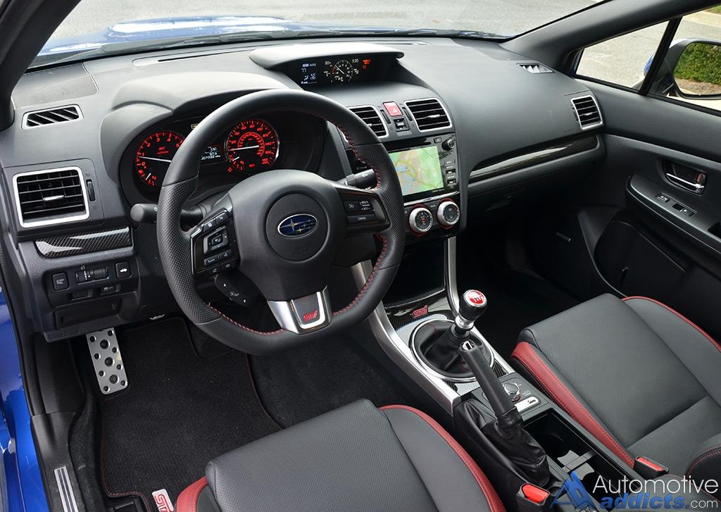 2016 Subaru Wrx Sti Limited Dashboard