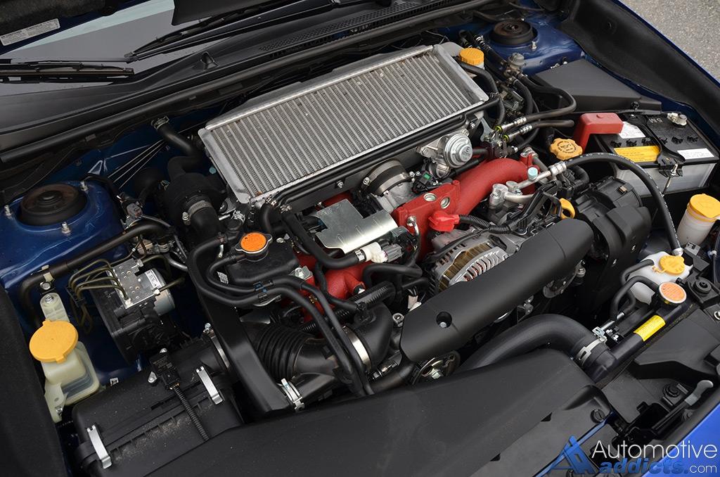 2016 Subaru Wrx Sti Limited Engine