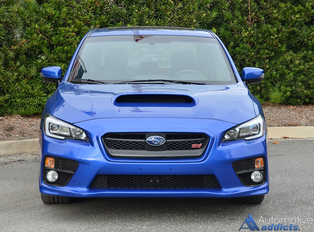 2016 Subaru WRX STI Limited Review & Test Drive