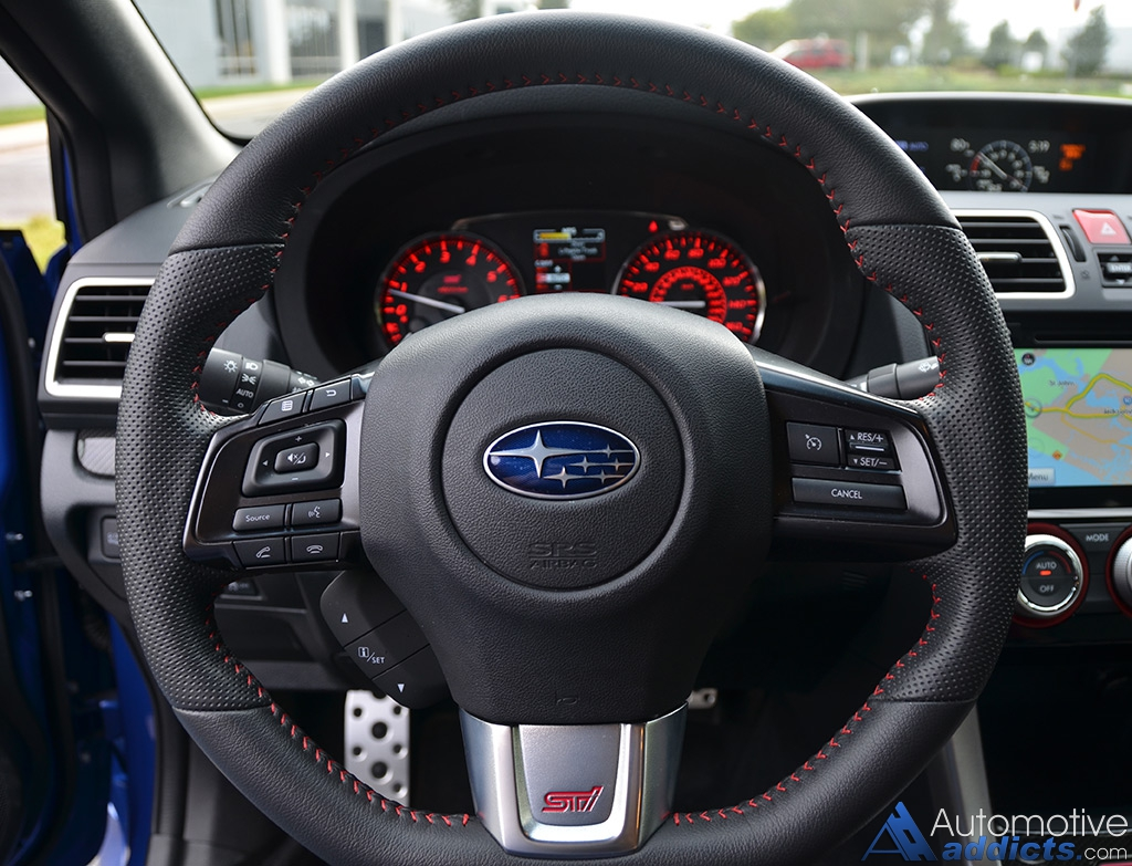 2016 Subaru Wrx Sti Limited Steering Wheel