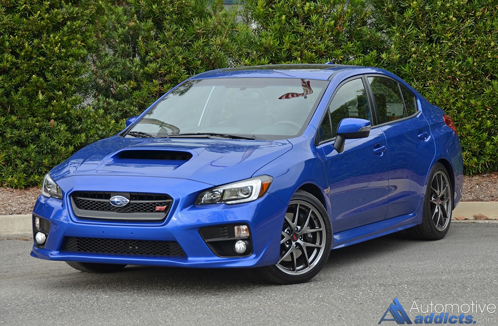 2016 subaru wrx sti limited review test drive. Black Bedroom Furniture Sets. Home Design Ideas