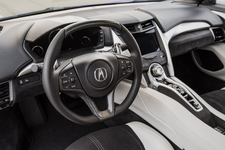 2017-acura-nsx-steering-wheel
