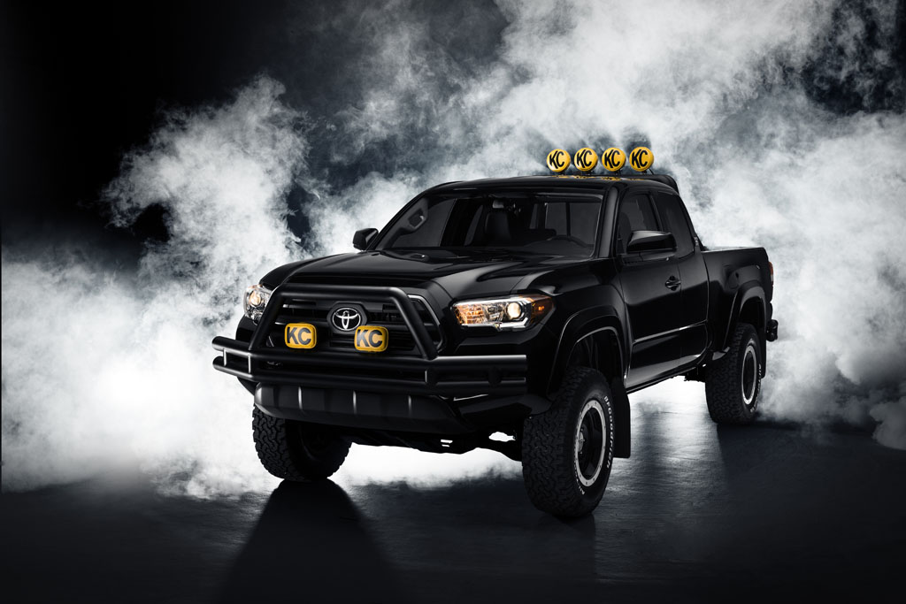 Toyota Reimagines Marty Mcfly S Dream Truck With 2016 Tacoma