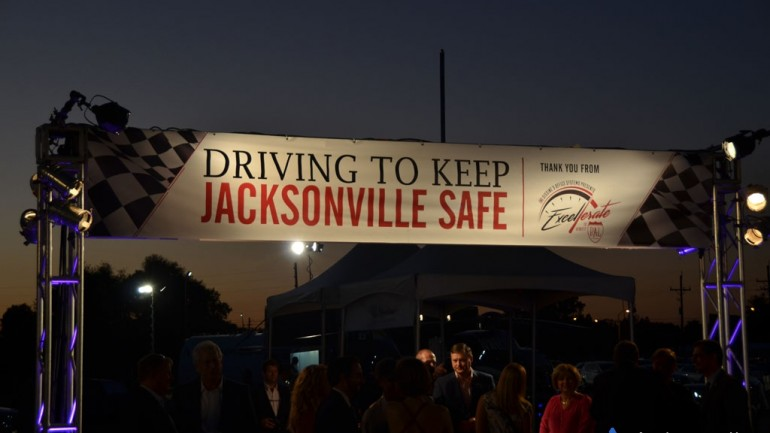 Excellerate Jax Kicks off with Reception Gearing up for I295 Beltway Exotic Car Drive