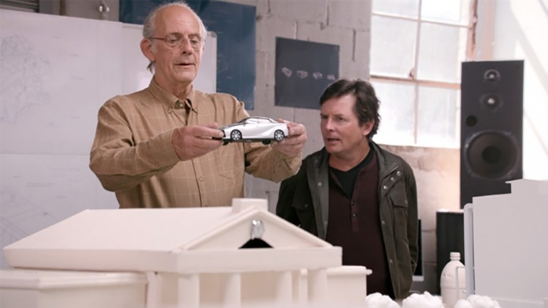 Toyota Promotes Hydrogen Fuel Cell Vehicle by Reuniting Doc Brown and Marty McFly Leading to Famous BTTF II Oct 21, 2015 Date: Videos