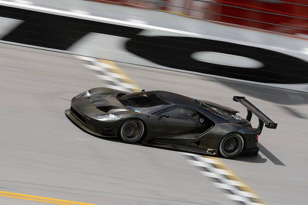 Test Runs Begin For Ford Gt Racecar At Daytona International Speedway Video