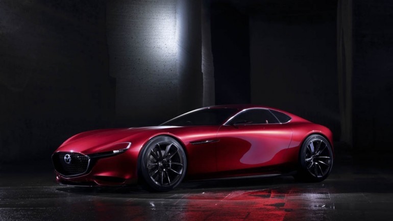 Mazda RX-Vision Concept Makes Show in Tokyo